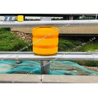 China High Intensity Safety Roller Barrier Roadside Guardrail For Accident Prone Roads on sale