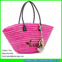 China New Designer Beach Totes Wholesale wheat Straw Bags on sale