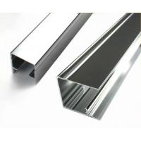 Square Mechanically Polished Aluminium Profile Extrusion For Building Material Manufactures