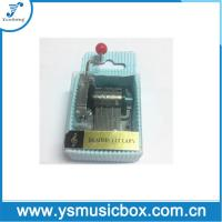 Blue Paper Material Yunsheng 18 Tune Hand-crank music box PVC sleeve(YH2/c-49) Manufactures