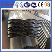 Natural Anodized Aluminum Fan Piece Profile For Wind Power Manufactures