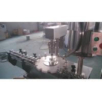 Automatic Bottle Capper Machine , Single Head Aluminum Cap Sealing Machine Manufactures