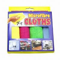 30 x 30cm microfiber cleaning cloths Manufactures