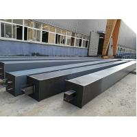 Building Construction Material Structural Steel /  Box Steel Column Beams Fabrication Manufactures