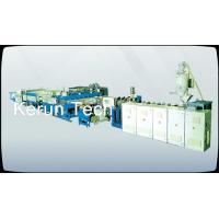 Industrial Packing PVC Foam Board Machine , WPC PVC Foam Board Production Line Manufactures