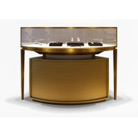 Luxury Veneer Stainless Steel Jewelry Display Cases / Jewellery Display Counter Manufactures
