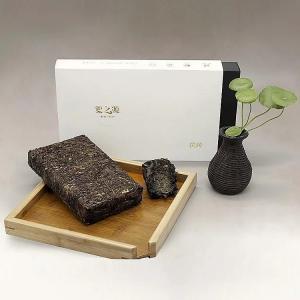 China Nature Dark Tea Brick / Fuzhuan Brick Tea For Afternoon Tea , Pure Health Slimming Tea on sale