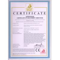 RUGAO HUICHENG HYDRAULIC MACHINERY CO.,LTD Certifications