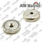 Strong permanent pot neodymium magnet Manufactures