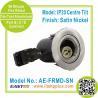 Buy cheap IP20 Tiltable Satin Nickel Fire Rated Downlight | LED Spotlight | Halogen Lamp from wholesalers
