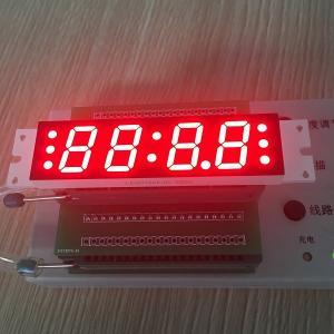 Four Digit Seven Segment Custom LED Display 14.8 Mm For Radio / Sound Manufactures