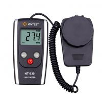 Industrial Portable Black Digital Light Meter With Auto Revise Parameters Manufactures
