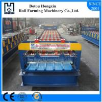 Mental Automatic Roll Forming Machine 1220mm Feeding Width Material Manufactures