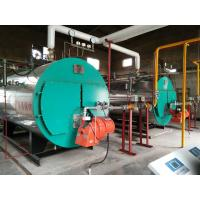 Automatic Horizontal Fire Tube Boiler / Propane Fired Steam Boiler For Textile Mill Manufactures