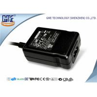 China 2 Pin C8 Input Black 12v 1A AC Power Adapter 1.5m DC Cable , 1 Year Warranty wholesale