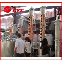 100Gal Stainless Steel Whiskey Commercial Distilling Equipment 1 - 3Layers Manufactures