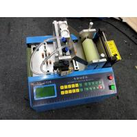 Hook Loop Elastic Automatic Webbing Cutting Machines With Hole Making Function Manufactures