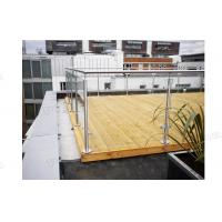 Platform Glass Railing Manufactures