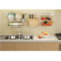 Kitchen Cookware Organizer Rod / Wire Rack Cabinet Organizers Painted Steel Manufactures