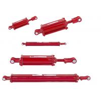Tractor Loader Hydraulic Cylinder Two Way Chrome Plated Heat Treatment Surface