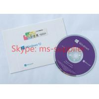 Customized language Microsoft Win 10 Pro OEM Software 64bit  DVD + OEM key Activation Online Manufactures