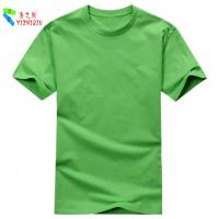 100% Organic Cotton Ladies Cotton Clothing Mens Sport Shirts Short Sleeve