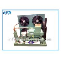 Direct Cooling 10HP R404a Air cooled Refrigeration Condensing Units Bitzer 4VES-10Y , 8kw 4VCS-10.2Y Manufactures