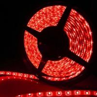 SMD 5050 Waterproof Flexible Red LED Flash Strip Light Manufactures