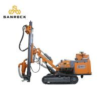 China Stable Diesel Dth Drilling Machine With Air Compressor 6500kg Weight on sale