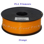 Orange 1kg pla filament 3d printing materials 1.75mm 3.00mm Manufactures