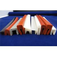 Colorful Silicone Seal Strip / Silicone Sponge Gasket Corona Resistance Manufactures