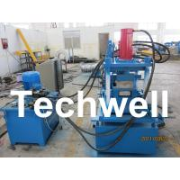 Manually Adjustable C Profile Roll Forming Machine With Manual Or Hydraulic Decoiler TW-C300 Manufactures