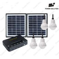 Portable Solar System with 3 LED  Lamps and Mobile Phone Charging Manufactures
