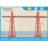 Quality 15T - 20T Cable Handling Equipment / Cable Drum Hydraulic Reel stand for sale