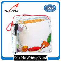 China Exquisite Erasable Writing Board , Magnetic Writing Board With Mark Pen on sale