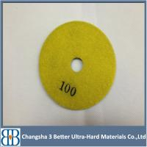 For Marble Granite Concrete Terrazzo Polishing Velcro Diamond Floor Polishing Pads