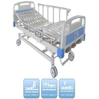 China Three Functions Pediatric Manual Hospital Bed Ce certificate Aluminum Alloy Side Rails on sale