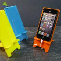 China Elegant Colorful Crystal Clear Cell Phone Accessories Display Stand Easy Clean on sale