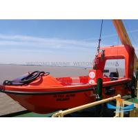 Light Weight Solas Rescue Boat , Fire Protected Lifeboat 6-16 Person Capacity Manufactures