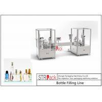 5-100ML Vacuum Perfume Filling And Capping Machine Large Capacity With Valve Placer Manufactures