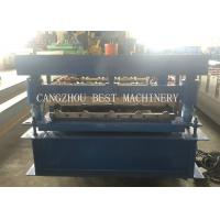 YX-840 3kw Formed Roof Sheet Roll Forming Machine 1000mm Width for sale