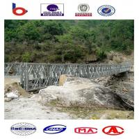 CB200 Bailey Bridge Single Lane TSR, Galvanized bridge.temporary bridge,military bridge Manufactures