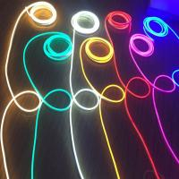 China Slim Silicone Multi Color LED Rope Light High Brightness With 3 Years Warranty on sale