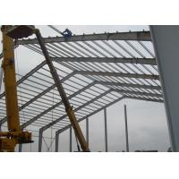 Lightweight Industrial Steel Structures , Shock Resistant Steel Structure Fabrication With Space Frames Manufactures