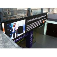 High IP Rating IP65 LED Rental Display , 4mm LED Display Full Color Outdoor Manufactures