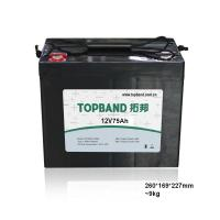 China 12v 75ah Battery Lithium Iron Phosphate Batteries CE Approved on sale