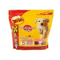 Watertight Stand Up Zipper Bags Dog Treat Pouch Customizable Collapsible Manufactures