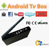 100+ Live Channels Russian IPTV Box Quad Core Android IPTV Box Support XBMC Amlogic 4.4.2 Manufactures