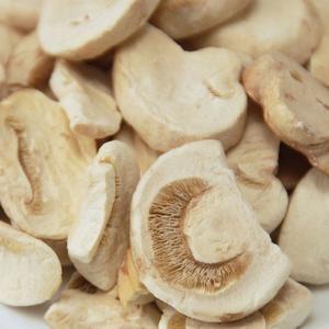 China Freeze Dried Mushroom Agaricus Campestris Sliced Cheap Freeze Dried Fungus on sale