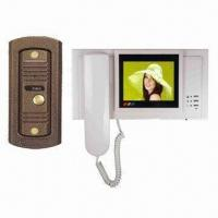 B/W Color Electronic Video Doorbell for Villas, Working Voltage of 100 to 240V AC, 15V DC Manufactures